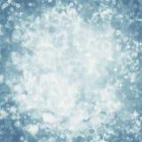 Абстрактная предпосылка сини яркого блеска ночи Стоковое Фото