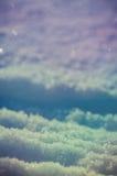 Абстрактная предпосылка снега зимы Стоковая Фотография
