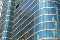Абстрактная предпосылка современного здания Стоковое Фото