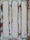 Абстрактная предпосылка старой деревянной покрашенной двери Стоковое Изображение RF