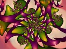 абстрактная предпосылка Сюрреалистские обои Стоковое Изображение
