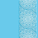Абстрактная предпосылка с восточным цветочным узором Стоковое Изображение