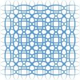 Абстрактная предпосылка с голубыми симметричными изогнутыми линиями Стоковые Изображения RF
