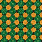 Абстрактная предпосылка сделанная от шестиугольников Стоковые Изображения RF
