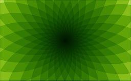 Абстрактная предпосылка с зелеными треугольниками иллюстрация штока