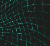 Абстрактная предпосылка с изогнутыми квадратами вектор Стоковое Фото