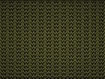 Абстрактная предпосылка с картиной желтого цвета tracery 3d представляют Иллюстрация цифров Стоковые Изображения
