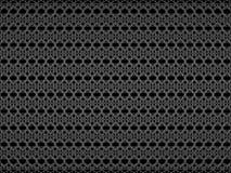 Абстрактная предпосылка с картиной серого цвета tracery 3d представляют Иллюстрация цифров Стоковое Изображение