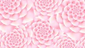 Абстрактная предпосылка с красивыми цветками Стоковое фото RF