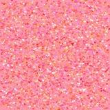 Абстрактная предпосылка с красными и розовыми сердцами вектор Бесплатная Иллюстрация