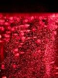 Абстрактная предпосылка с красными пузырями Стоковые Изображения