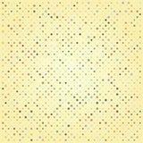 Абстрактная предпосылка с кругами в ретро цветах Стоковое Фото
