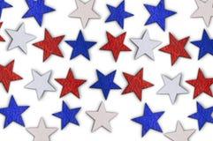 Абстрактная предпосылка с национальными звездами Стоковое Изображение RF