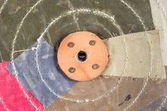 Абстрактная предпосылка с пестрой тканью Стоковое Фото