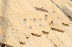 Абстрактная предпосылка с пиломатериалом здания Стоковое Изображение