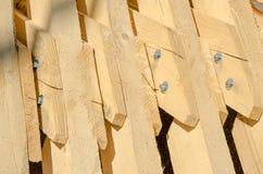 Абстрактная предпосылка с пиломатериалом здания Стоковые Фото