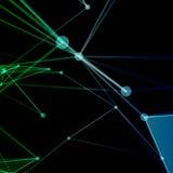 Абстрактная предпосылка с поставленной точки решеткой Стоковое фото RF
