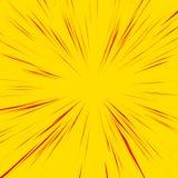 Абстрактная предпосылка с радиальным, излучающ, собирательные линии бесплатная иллюстрация