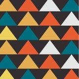 Абстрактная предпосылка с треугольниками, вектор Стоковые Изображения RF