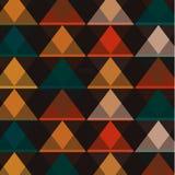 Абстрактная предпосылка с треугольниками, вектор Стоковое фото RF