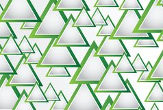 Абстрактная предпосылка с треугольниками и космос для вашего сообщения Стоковая Фотография