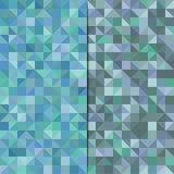 Абстрактная предпосылка с треугольниками также вектор иллюстрации притяжки corel Стоковые Фотографии RF