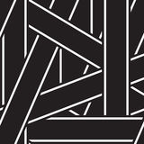 Абстрактная предпосылка с monochrome нашивками Стоковые Фотографии RF