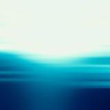 Абстрактная предпосылка творческих способностей дизайна голубых волн Стоковое Фото