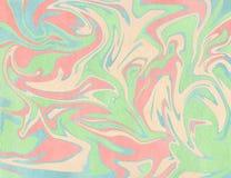 абстрактная предпосылка Текстура акварели мраморная Стоковое Изображение