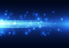 Абстрактная предпосылка технологии вектора, иллюстрация Стоковая Фотография