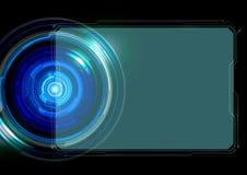 Абстрактная предпосылка технологии рамки Стоковые Изображения RF