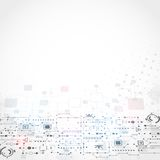 абстрактная предпосылка технологическая Стоковые Фотографии RF