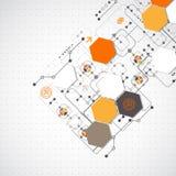 абстрактная предпосылка технологическая Стоковое Изображение RF