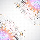 абстрактная предпосылка технологическая Стоковая Фотография RF