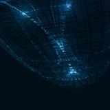 абстрактная предпосылка технологическая Стоковое фото RF