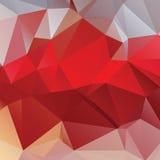 Абстрактная предпосылка треугольника Стоковая Фотография RF