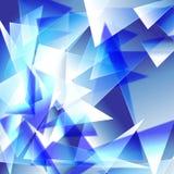 Абстрактная предпосылка треугольника Стоковые Изображения