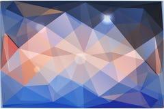 Абстрактная предпосылка треугольников Стоковые Изображения RF