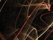 Абстрактная предпосылка фейерверков Стоковое фото RF