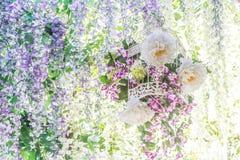 абстрактная предпосылка флористическая Стоковое Фото