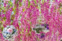 абстрактная предпосылка флористическая Стоковая Фотография
