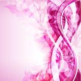 Абстрактная предпосылка цветка Стоковое фото RF