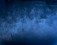 Абстрактная предпосылка чернил в воде Стоковые Фото