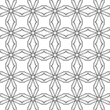 абстрактная предпосылка Черно-белая геометрическая безшовная картина бесплатная иллюстрация