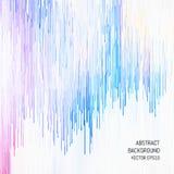 абстрактная предпосылка Яркое визуализирование музыки Белый космос для текста Стоковое Изображение