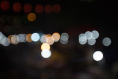 Абстрактная предпосылка bokeh, партия bokeh в ноче, предпосылке bokeh уличных светов города ночи, предпосылке города ночи, абстра Стоковые Изображения