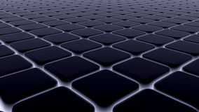 Абстрактная предпосылка 3d блоков, кубы, коробка, 3d представляет Стоковое Изображение RF