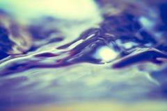 Абстрактная предпосылка moving поверхности воды Стоковое фото RF