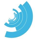абстрактная принципиальная схема связи Стоковое Изображение RF