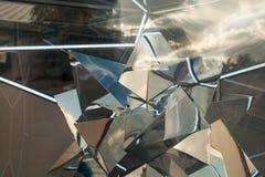 Абстрактная прозрачная предпосылка отражения Стоковое фото RF